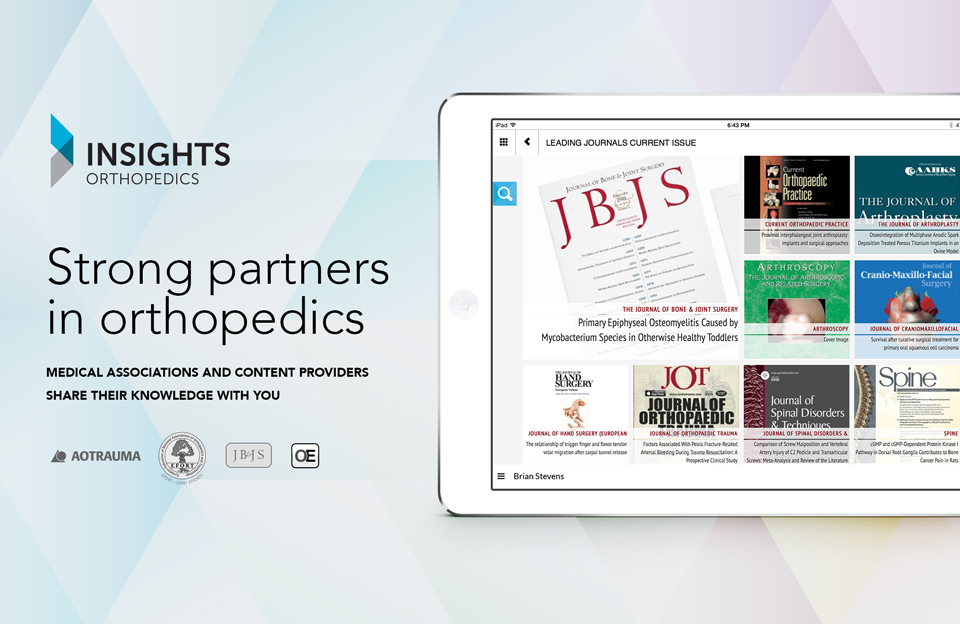 Strong partners in Orthopedics